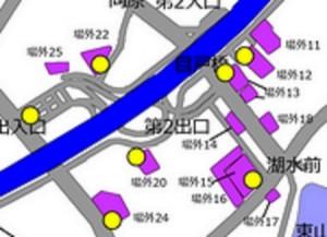 御殿場アウトレット周辺駐車場料金無料駐車場地図
