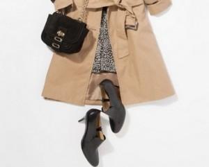 トレンチコートファッション