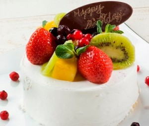 温泉旅行 カップル ケーキ