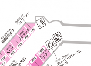 御殿場アウトレット食事 WEST-ZONE